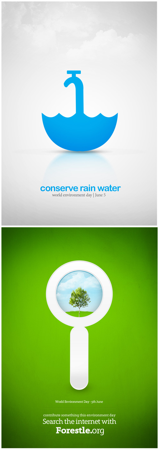 World environment day wed posters designjunction blog exploring design with art and science of creativity altavistaventures Gallery